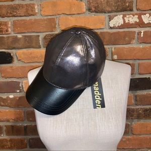 Madden Adjustable Hematite Metallic Baseball Hat